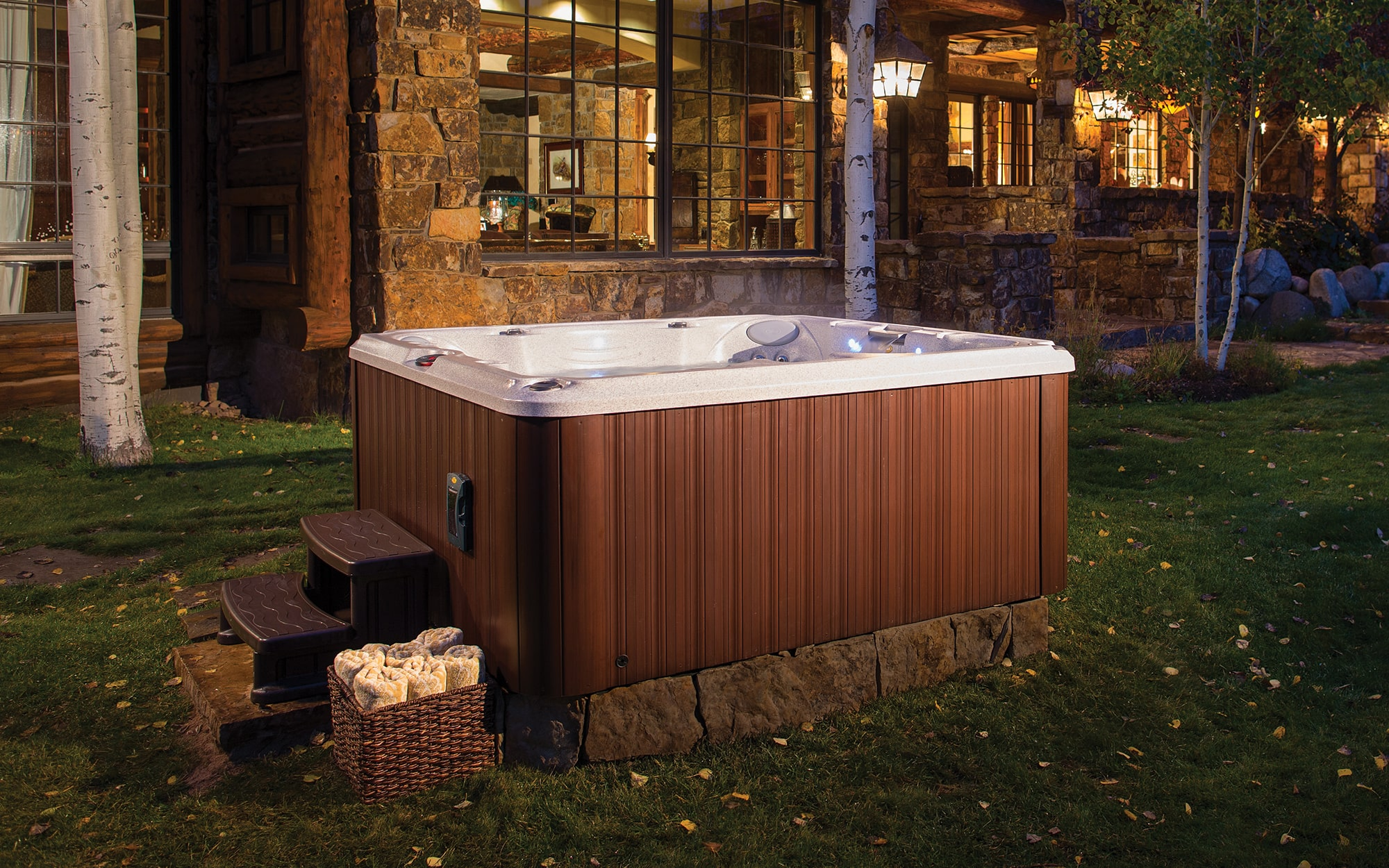 Jacuzzi Hot Tubs J-245 Installation in Manitoba