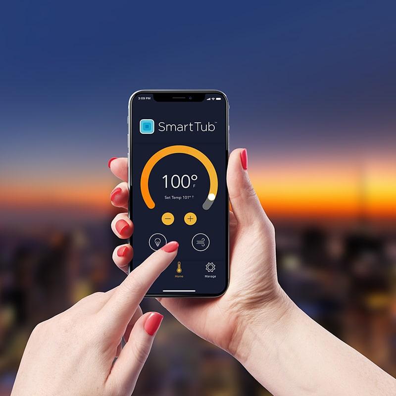 SmartTub System App Controls in Manitoba
