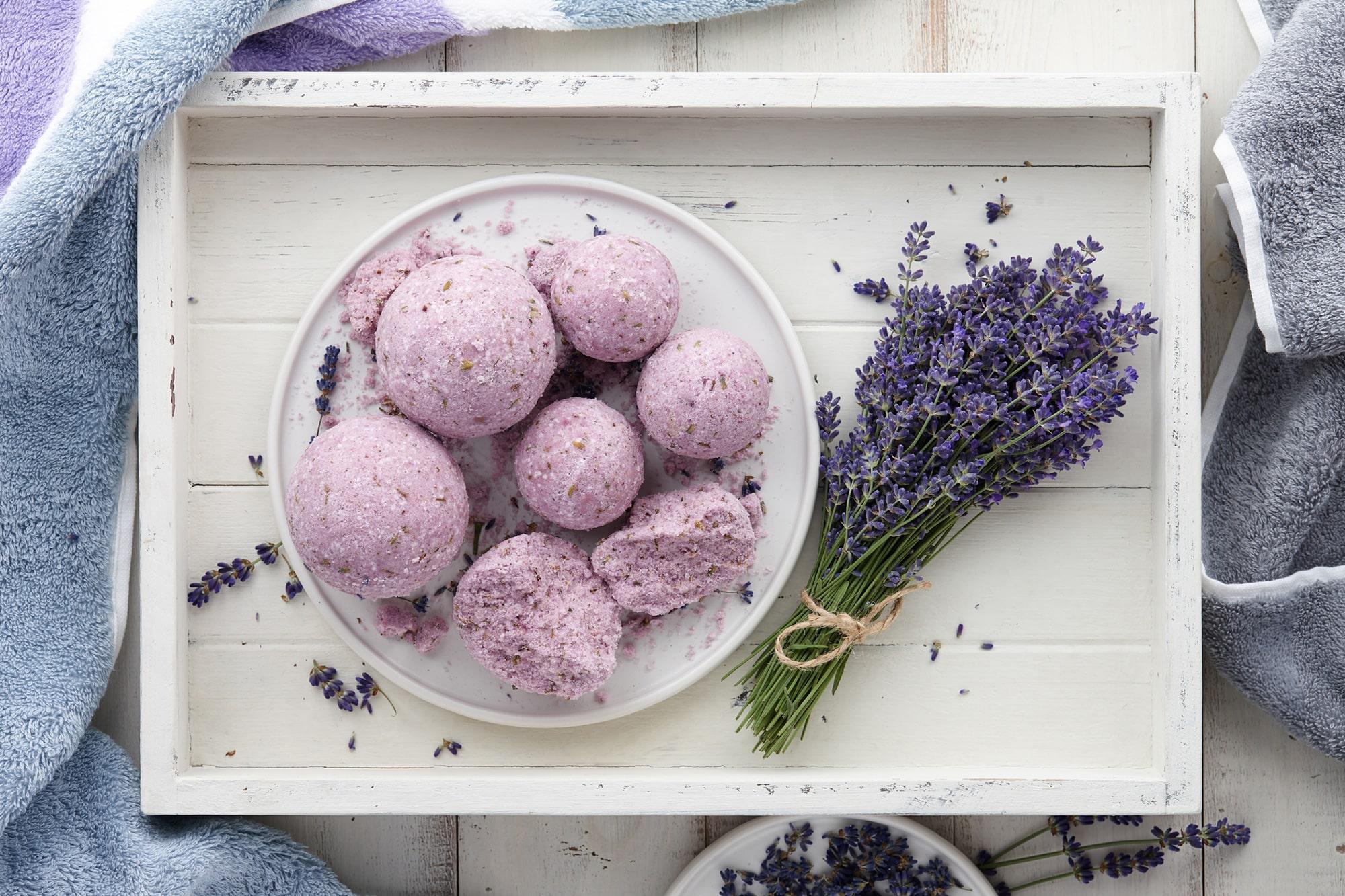 hot tub spa aromatherapy lavender