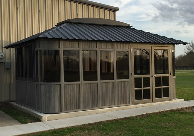 Westview Manufacturing Colorado gazebo in Manitoba