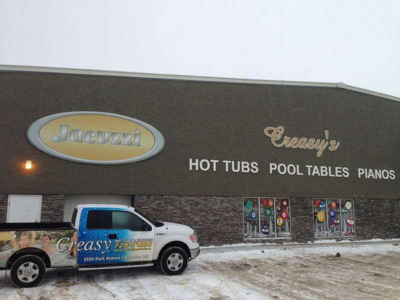 Jacuzzi Hot Tubs of Manitoba in Brandon