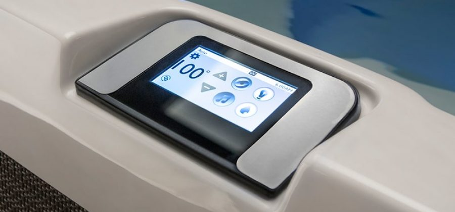 Jacuzzi Hot Tubs Touchscreen Control Panel in Manitoba