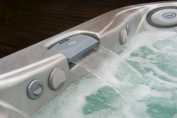 Jacuzzi Hot Tubs Waterfall Feature in Manitoba